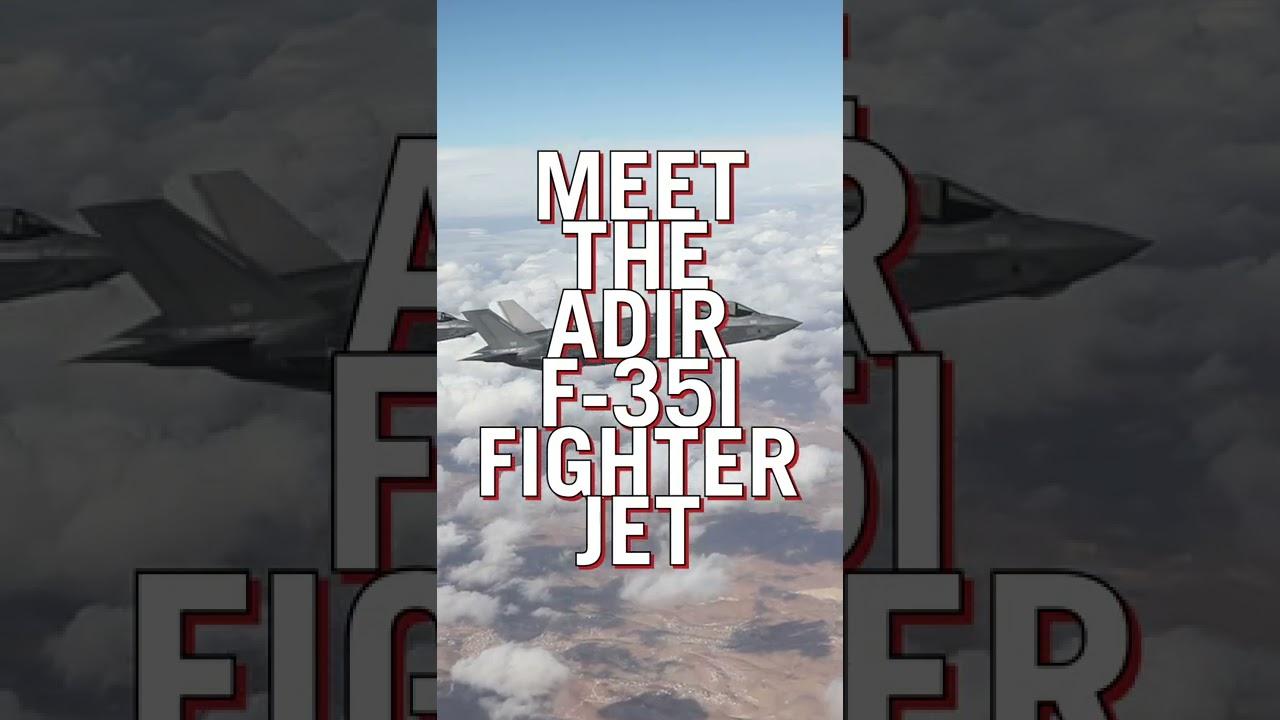 IDF F-35I JET IN 3D | #Shorts