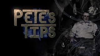 Pete's Tips - Momentum & Kinetic Energy