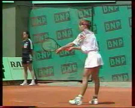 Sabine Hack Hack Fusai French Open 1994 YouTube