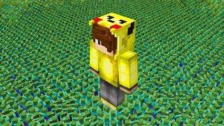 100,000 ZOMBİ VS ISMETRG! - Minecraft