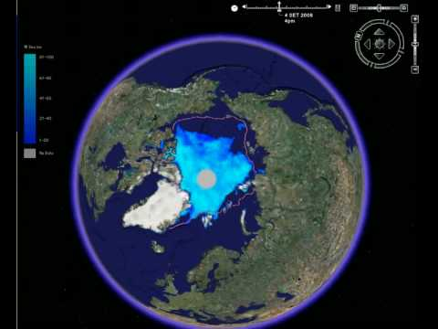 arctic ice from 30 July to 28 October