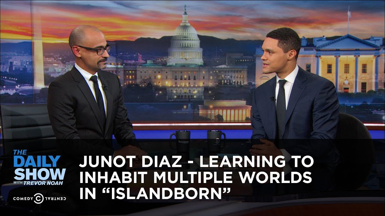junot-diaz-learning-to-inhabit-multiple-worlds-in-islandborn-the-daily-show