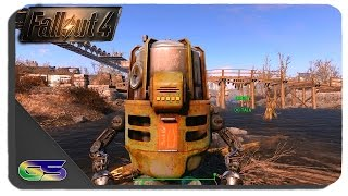 Fallout 4 - Buddy The Beer Dispenser Robot