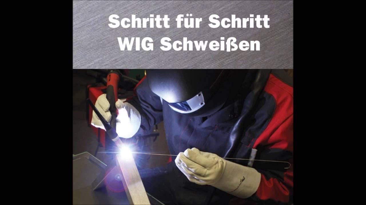 schritt für schritt wig schweißen wwwschweissbuchde
