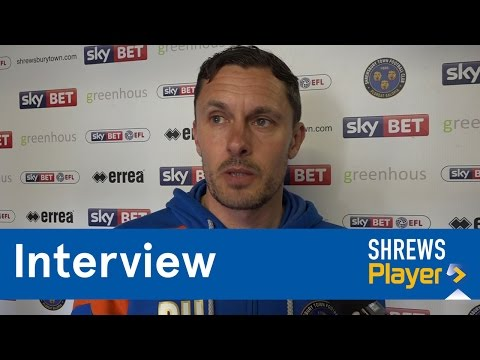 INTERVIEW | Paul Hurst post Bolton Wanderers (H) - Town TV