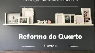::DIY:: Ideias com Papelão - Reforma do Quarto #Parte2