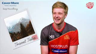 George Horlin-Smith from the GC Suns shares his travel tale