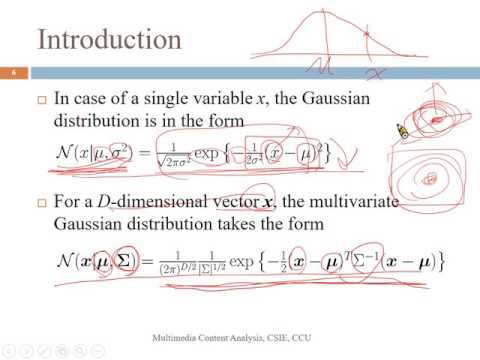 Multimedia Content Analysis -- 14_Gaussian Mixture Model