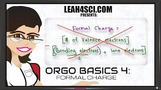 Formal Charge Shortcut Organic Chemistry Basics Vid 4