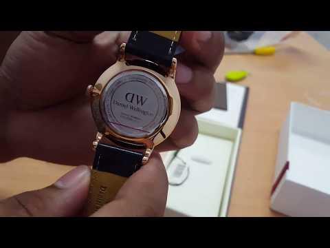 Unboxing jam tangan daniel wellington dapper
