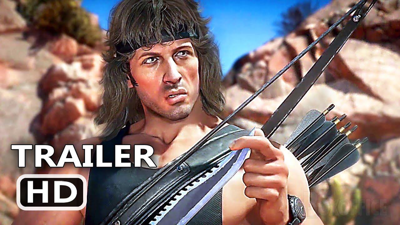 PS5 - MK11 Rambo Fatality Gameplay (2020)