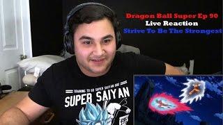 "Dragon Ball Super Episode 90 Live Reaction ""Gohan's Strive To Be Stronger"""