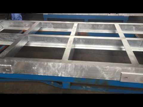 Custom made galvanized sheet metal prices
