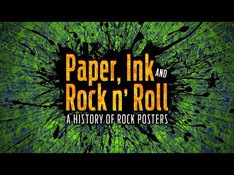 Paper, Ink and Rock and Roll  A History of Posters 2  The Poster Art of Stanley Mouse