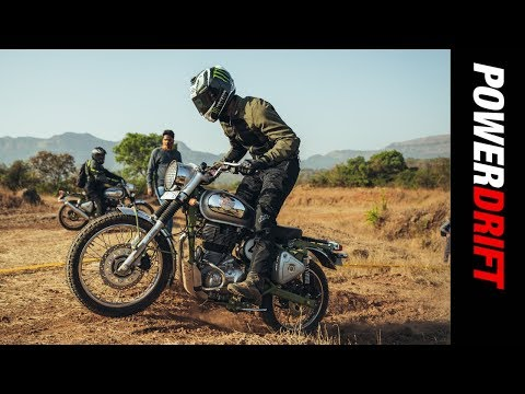 Royal Enfield Trials 500 : The offroading Bullet?