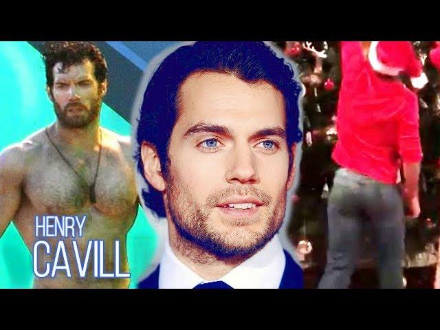 henry cavill bum