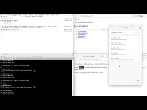 Offline First React Native + Meteor Apps - By