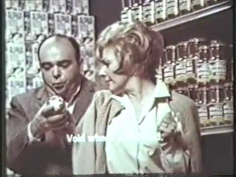 VINTAGE 1967 JAMES COCO COMMERCIAL  MAXWELL HOUSE COFFEE