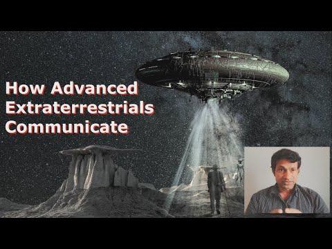 How Extraterrestrial Civilizations Communicate Between Interstellar Distances?