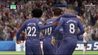 Chelsea vs Everton (4-1)   Premier League   Matchday 12 of 38