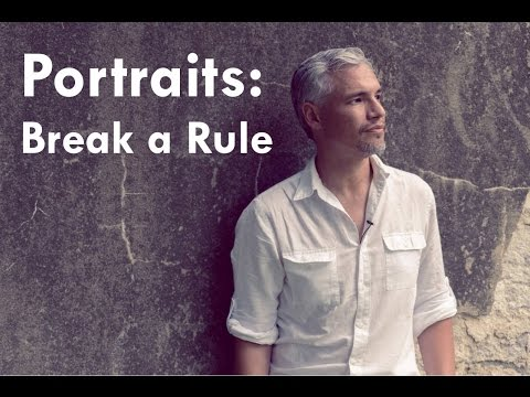 Tony & Chelsea LIVE: Portraits - Break a Rule! Portfolio Rev