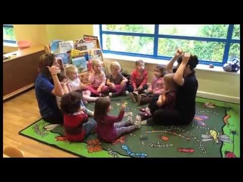Pre-School Children Sing & Sign Kiddi Caru Day Nursery