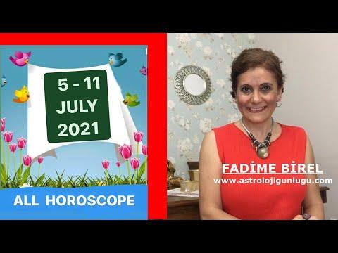 New Moon ! 5-11 July 2021 Weekly Horoscope - From Fadime Birel