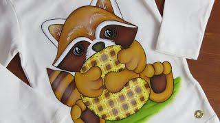 Pintura em tecido: Como ter um contorno perfeito!
