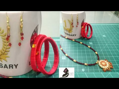DIY: Elegant and easy to make jewelry set || Ep:71