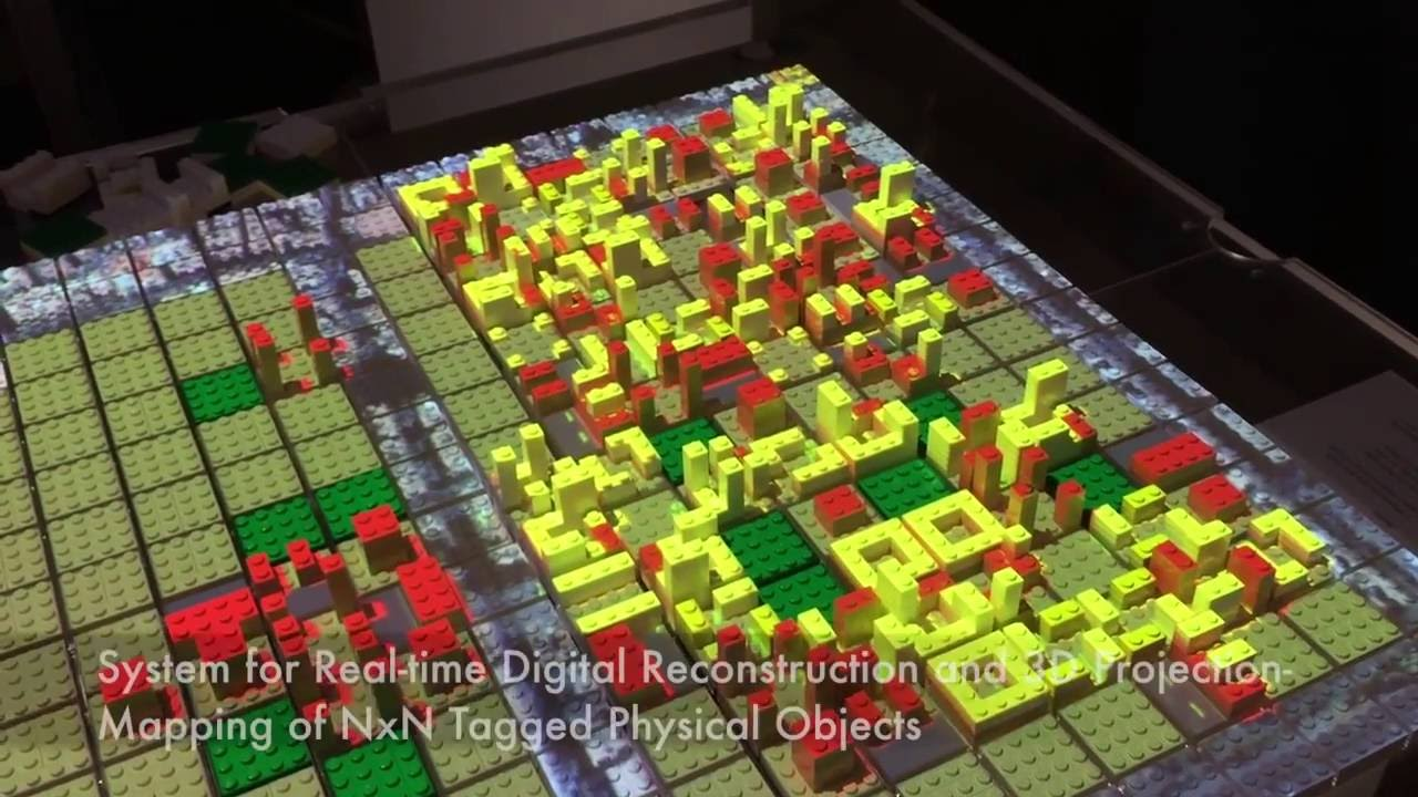 Open Urban Planning: CityScope, an interactive LEGO City by