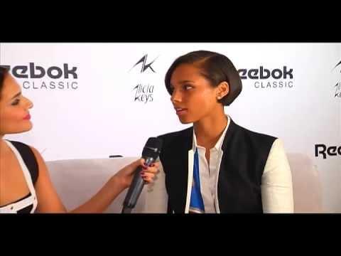 Alicia Keys - Reebok Women's Event - NYC