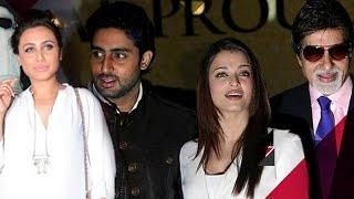 Rani Mukherji SKIPS Family Function To RESOLVE Issues With Bachchans? | Bollywood News