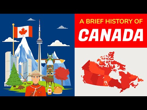 Canada History - Timeline And Animation In 5 Minutes