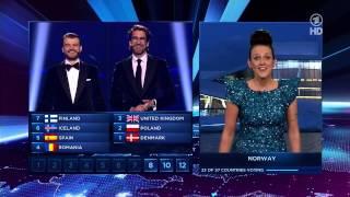ESC 2014 - Voting & Siegerehrung (ARD)