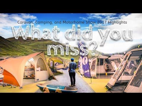 Caravan, Camping, And Motorhome Show 2017 Highlights