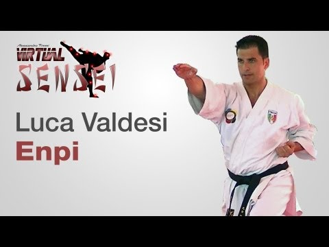 Luca Valdesi teaching kata Enpi - Karate & Relax June 2013