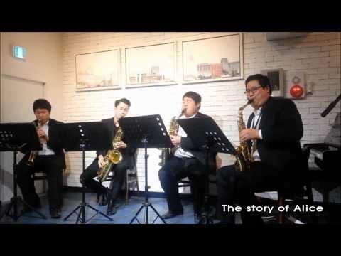 J.S. Bach - air in the G Saxophone