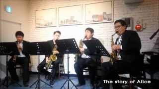 J.S. Bach - air in the G Saxophone