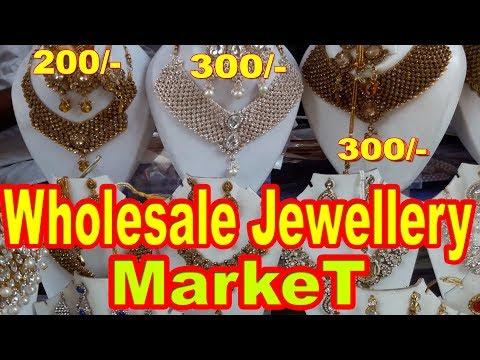 Jewellery Wholesale Market | Cheapest Jewellery Market In India | Rui Mandi Sadar Bazar.. Go Girls!