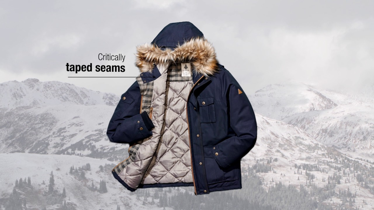 87ef14fc6a WOODS Insulated Parka - YouTube