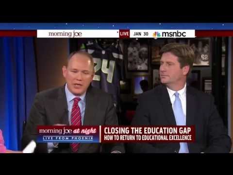 Mike Barnicle asks CEO of Apollo Education Group about access to education (30 January 2015)