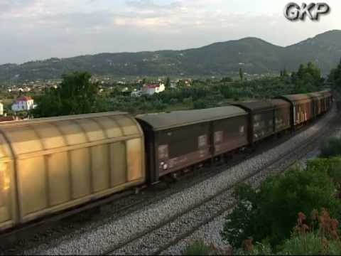 FREIGHT TRAINS IN ATHENS Part 3 2001-2004
