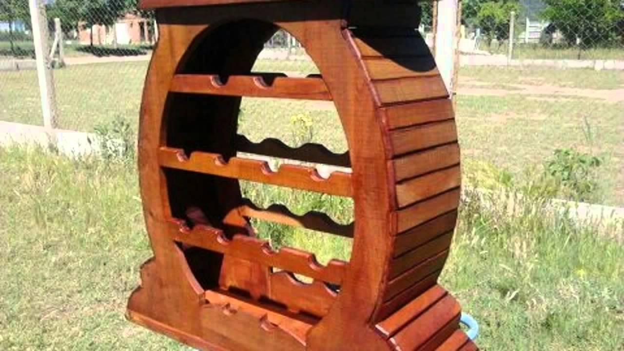 trabajos en madera rstica youtube - Madera Rustica