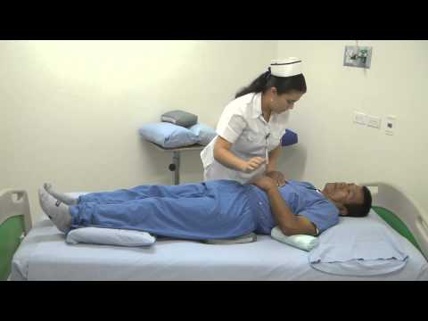 Cuidado del paciente postrado en Cama
