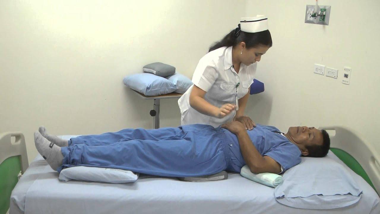 Cuidado Del Paciente Postrado En Cama Youtube