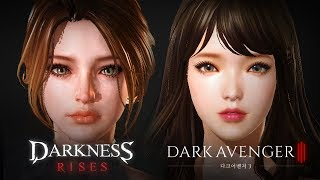 Darkness Rises vs Dark Avenger 3 - Westernization - Android on PC - Mobile - F2P - EN