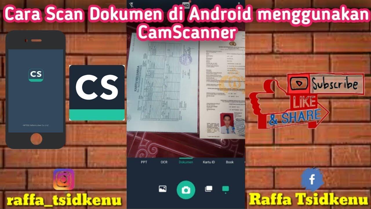 Cara Scan Dokumen Menggunakan Aplikasi Camscanner Dan Menghilangkan Watermarknya Mudah Dan Cepat Youtube