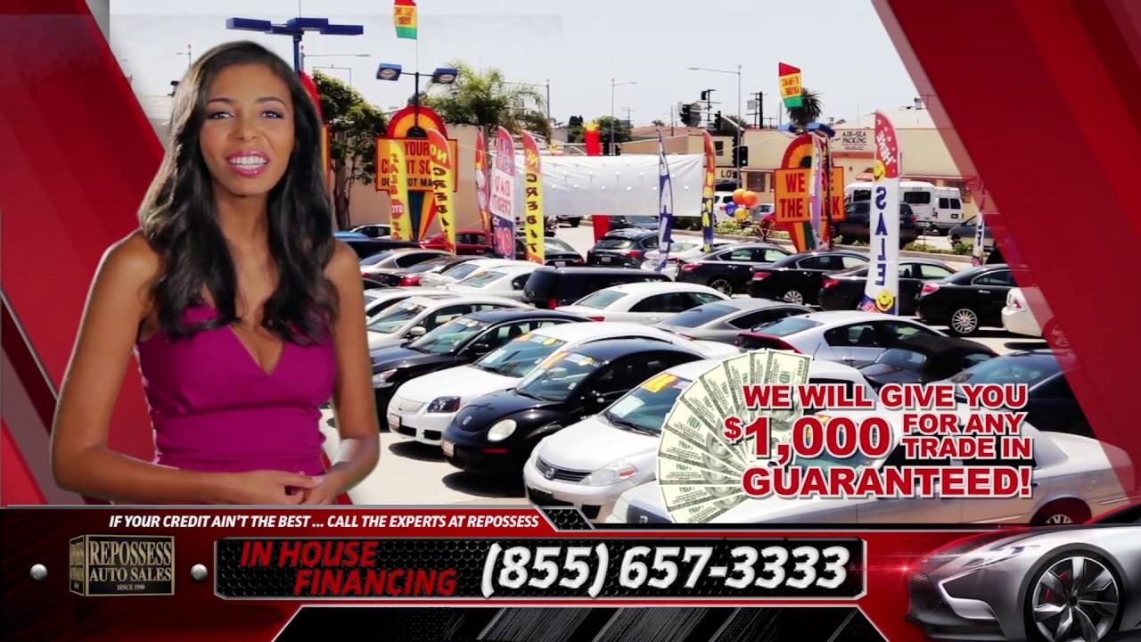 Repossess Auto Sales >> Briana Erica Repossess Auto Sales Commercial - YouTube