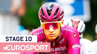 Giro d'Italia 2019 | Stage 10 Highlights | Cycling | Eurosport