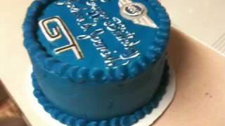 Mini Cooper Mustang Gt B-day Cake
